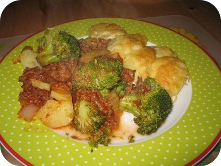 Broccoli Gehakt Gratin