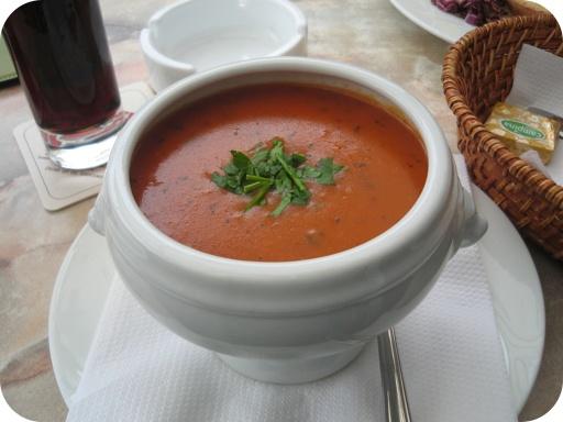 Tomatencremesoep van Restaurant Petit Reserve - Gulpen