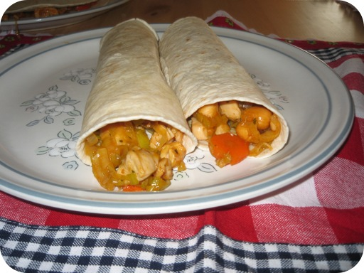 Kip Chili Wraps