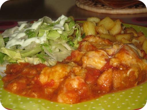 Gepaneerde Schnitzel in Tomatensaus uit de Oven