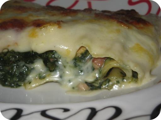 Spinazie-Kip Lasagne