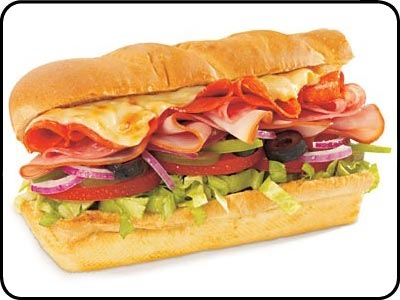 Subway Italian bmt