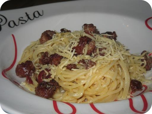 Pasta met Romige Citroensaus