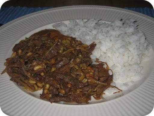 Rundvlees uit de Wok