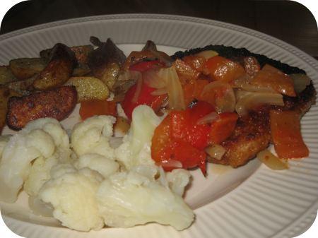 Wienerschnitzel met Paprikasaus