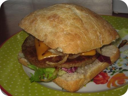 Ciabattini Cheese Burger