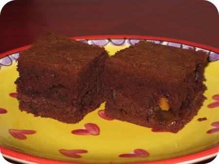 Brownie met Fudge