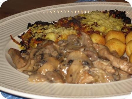 Wortelblini's en Zwitserse Schnitzel