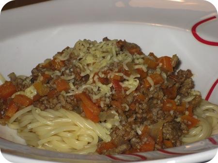 Spaghetti met Vleessaus