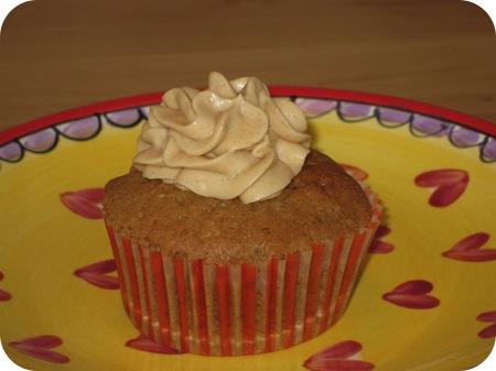 Koffie Walnoot Cupcakes