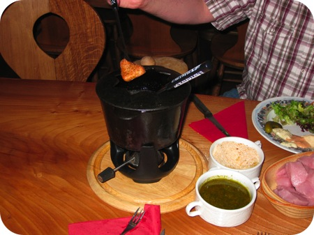 fondue bressane - chalet gruyere menen