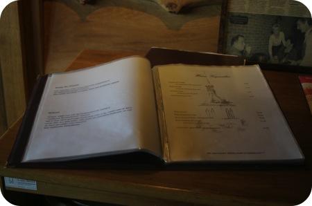 Chalet Gruyere - Menen menukaart
