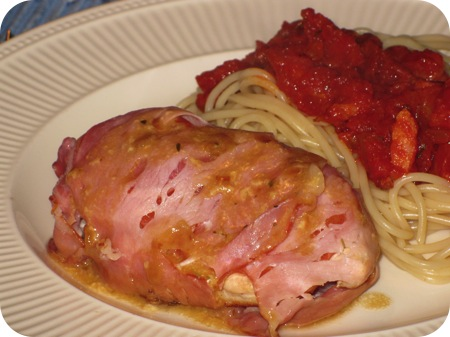 Verpakte Kipfilet in Bacon