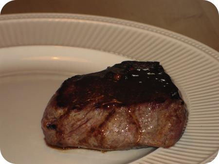Steak au Poivre (Biefstuk Pepersaus)