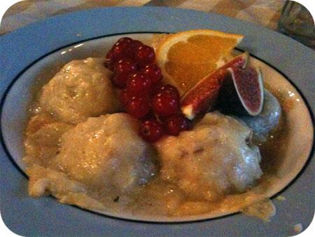 Restaurant Mona's - Scherpenzeel Gegratineerde champignons met kippenragout