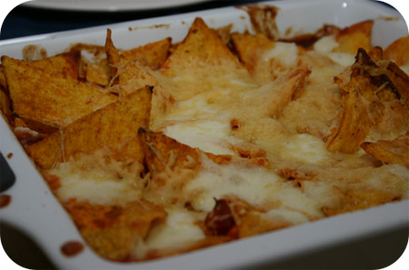 Taco Chips Ovenschotel