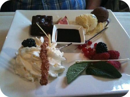 De Goudreinet - Kesteren brownie ijs
