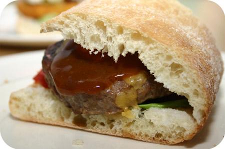 Ciabatta Hamburger