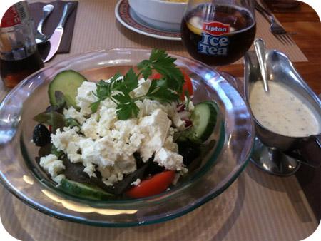 Kapittelhuis - Gent Turkse salade