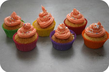 Cupcakes met Botercrème