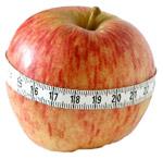 appel met meetlint