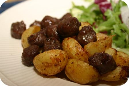 Country Aardappeltjes met Chipolata Worstjes