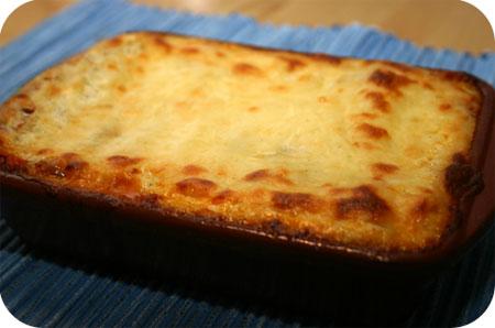 Lasagne van Anja en Britt