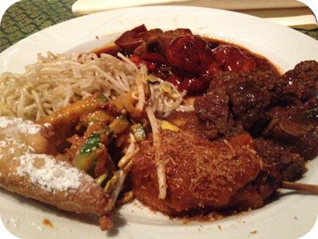 Jakarta Baru - Ede Indonesisch Maleisisch buffet
