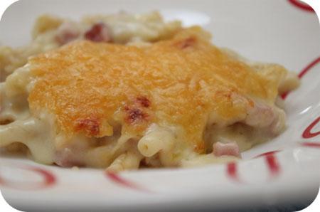 Macaroni Ham Kaas uit de Oven