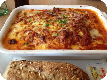 Cho-Ka-Tee in Hasselt lasagne