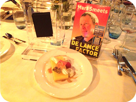 NS Publieksprijs Diner Mart Smeets nam zijn nominatie award niet in ontvangst