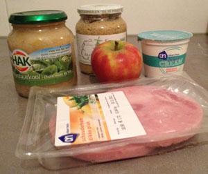 Ingrediënten Zuurkool Pakketjes uit de Oven