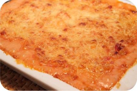 Macaroni met Tomaten Kaassaus