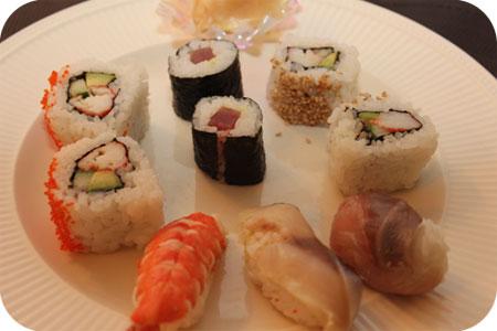 Kikkoman Sushiworkshop leftovers