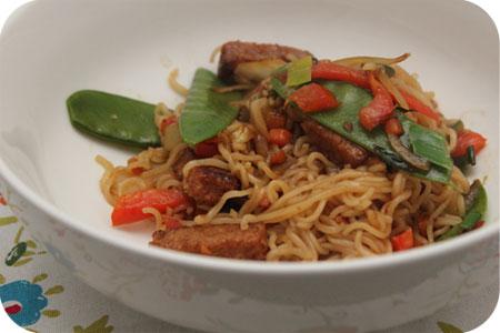 Vega: Noodles Teriyaki