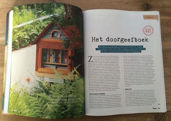 Flow Magazine 01/2014 doorgeefboekenkast