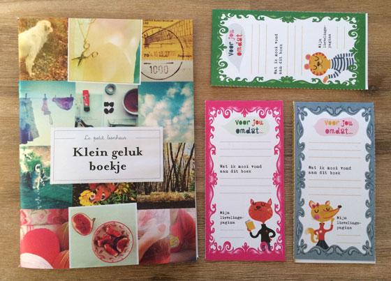 Flow Magazine 01/2014 extraatjes klein geluksboekjes en boekenkaartjes.