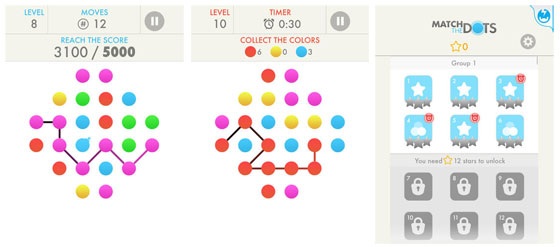 Match the dots