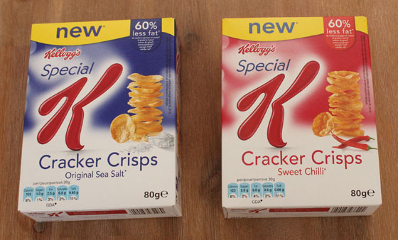 Special K Cracker Chips natural sweet chili