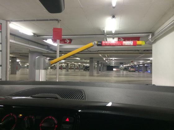 nog een lege parkeergarage