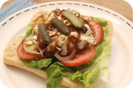 Broodje Vegaburger