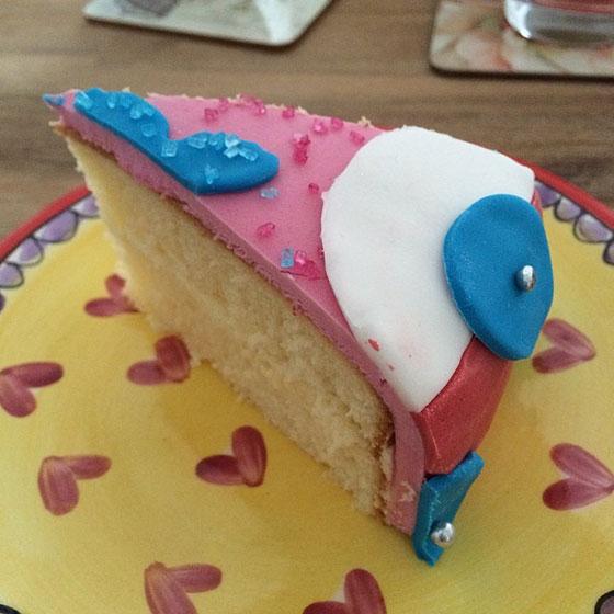 taart eten