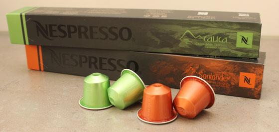 Limited Editions: Nespresso Cauca en Santander colombian terroirs
