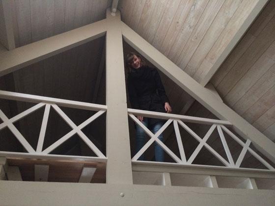 britt heeft een eigen verdieping
