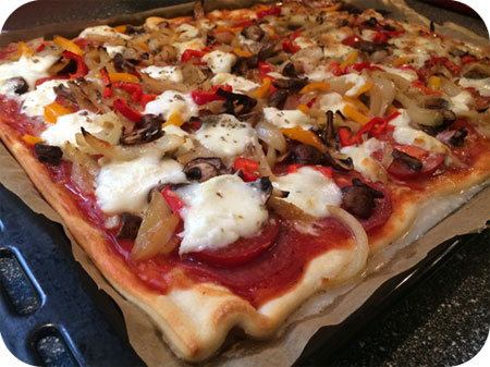 Pizza bij Mieneke