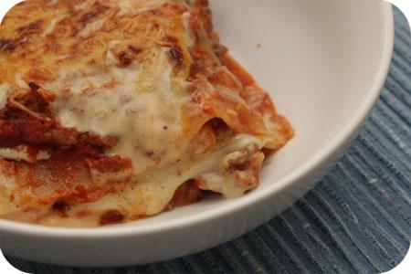 Huisgemaakte Lasagne