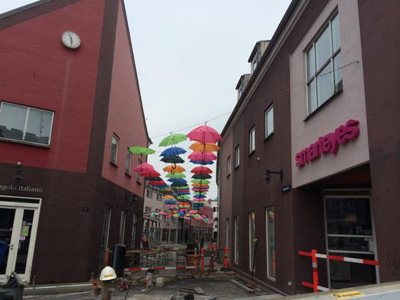 kleurrijke parapluutjes