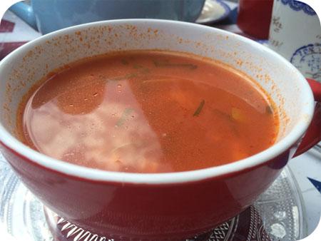 kopje soep JE Theetafel in Veenendaal