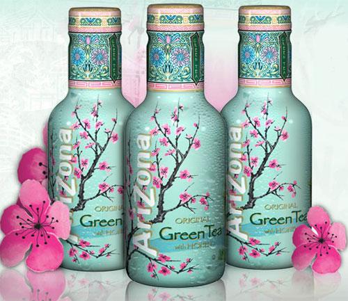 Arizona Iced Tea Green Tea with Ginseng & Honey