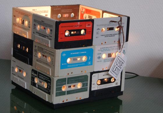 Useless Cassettebandjeslamp